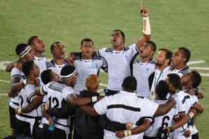Fiji's rugby sevens team.
