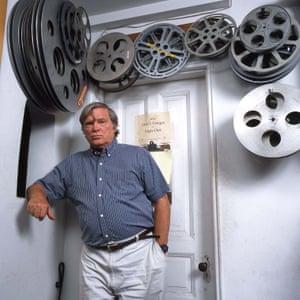 DA Pennebaker in his offices in New York City, 1995.