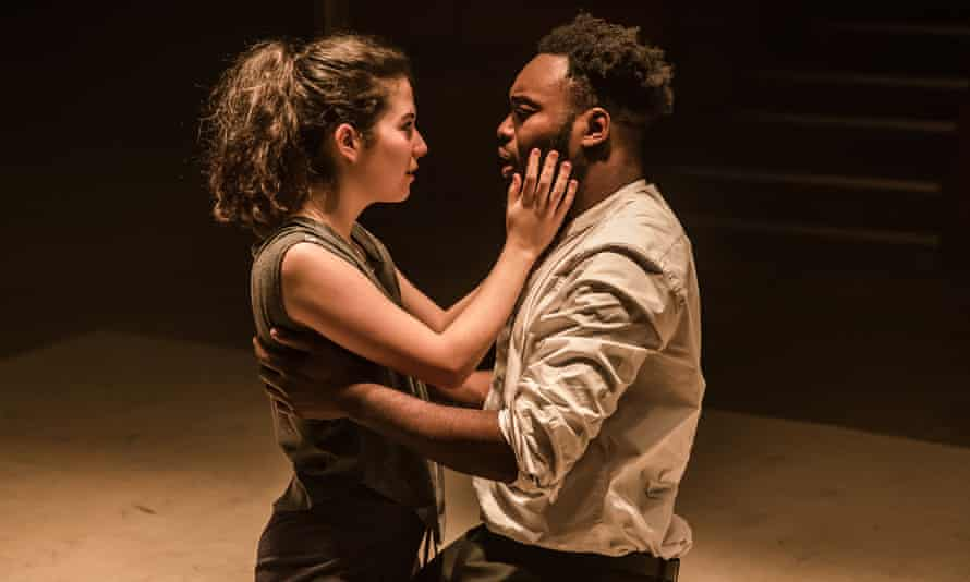 Outstanding … Norah Lopez Holden and Abraham Popoola as the doomed couple.