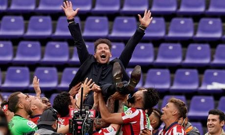 Real Madrid v Villarreal, Valladolid v Atlético: La Liga title race finale – live!