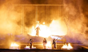 Catastrophic denouement … Götterdämmerung at the Royal Opera House