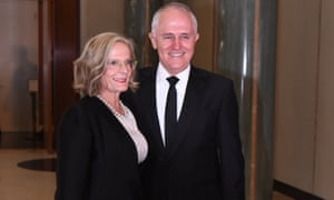 Lucy and Malcolm Turnbull