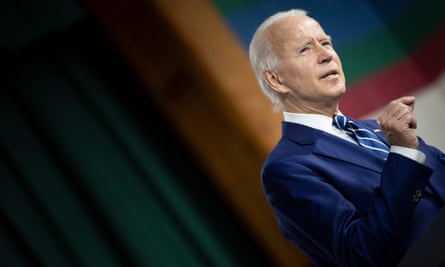 Joe Biden has largely been conducting his campaign from his basement – and the polls suggest it is working.