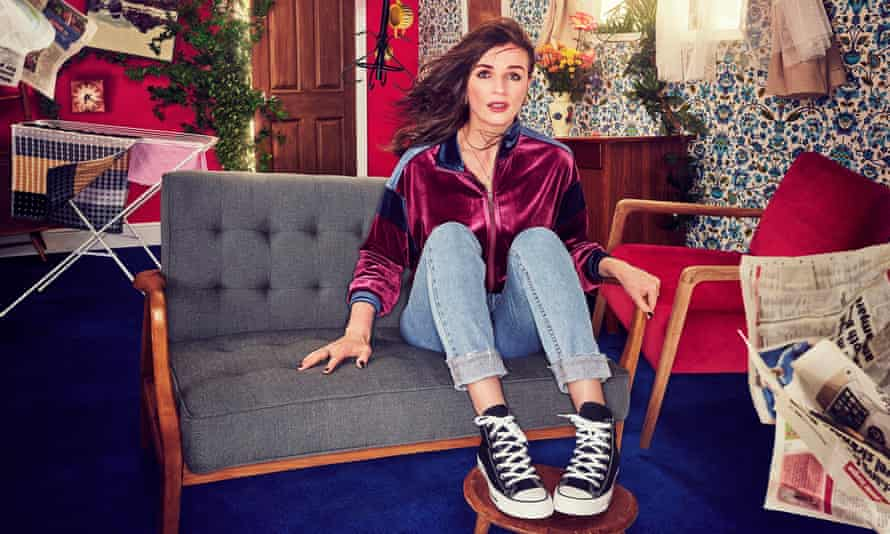 Sofa so good: in her new comedy This Way Up, in which she plays a foreign-language teacher.