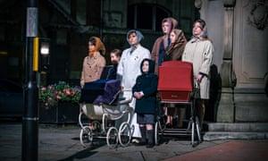Exhilarating … Maxine Peake's promenade show The Last Testament of Lillian Bilocca.