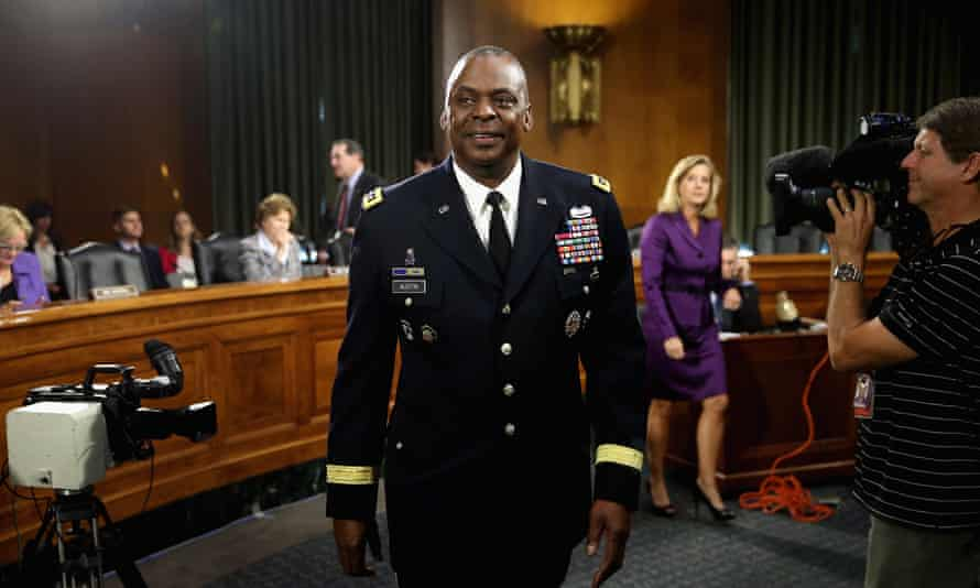 Lloyd Austin was involved in the Iraq war and the fight against Isis.