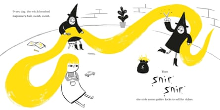 From Rapunzel by Bethan Woollvin