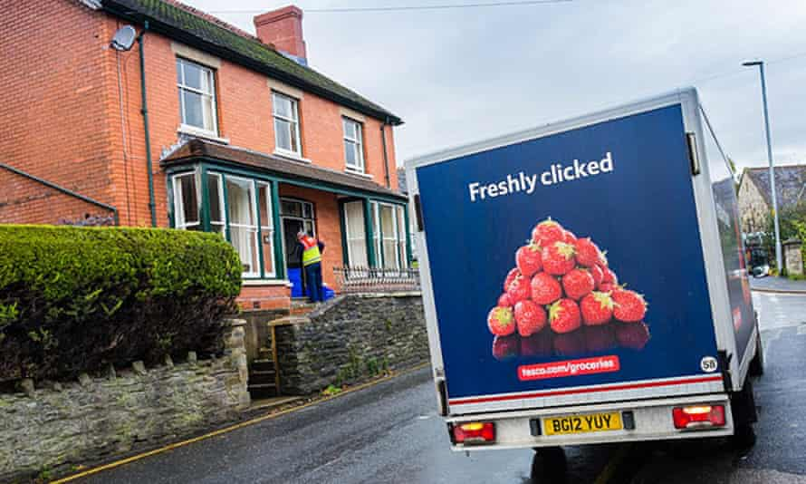 Tesco says it is working hard to fix the IT problem.
