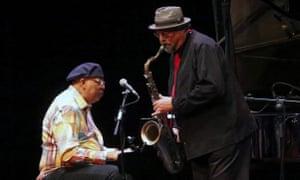 Masterful … Chucho Valdés (left) and Joe Lovano.