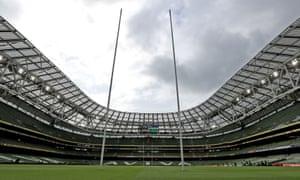 The Aviva Stadium, Dublin.