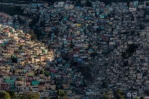 The slum of Jalousie, Haiti