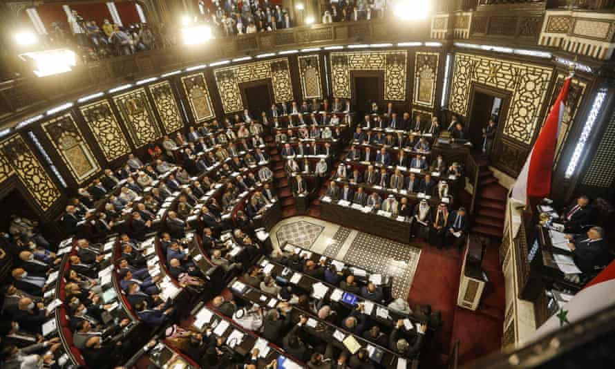 Syria's parliament convenes to set the presidential election date