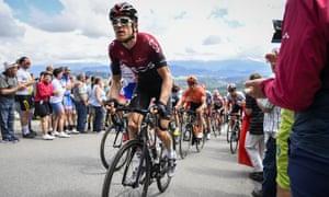 Defending Tour champion Geraint Thomas was kept under wraps until the final 2019 warm-up race, the Tour of Switzerland.