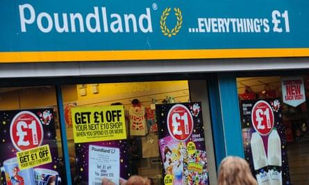 A Poundland store