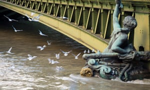 Water levels on the Seine continue to rise after weeks of heavy rain.
