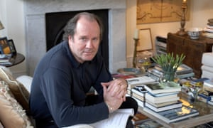 William Boyd photographed at home in 2008