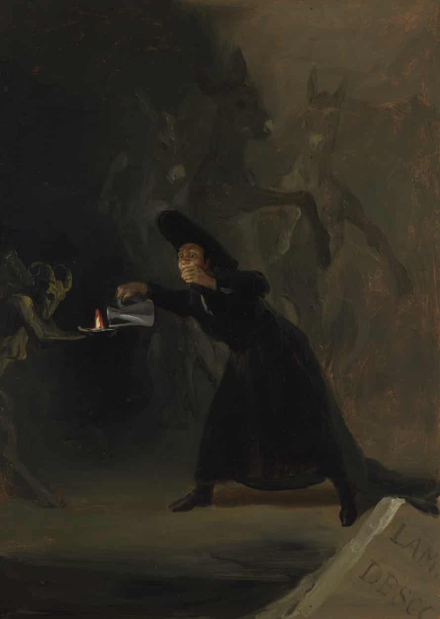 Goya, The Forcibly Bewitched 1798 (c) The National Gallery, London