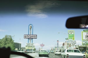 Sequence, Upper Strip, Driving North, Las Vegas, 1968 from the LAS VEGAS STUDIO series