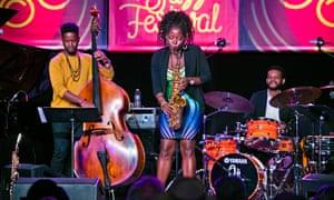 Tia Fuller's Diamond Cut at the Monterey Jazz Festival