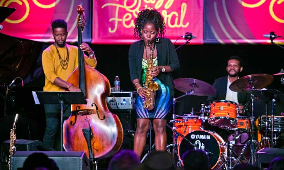 Tia Fuller's Diamond Cut at the Monterey Jazz Festival