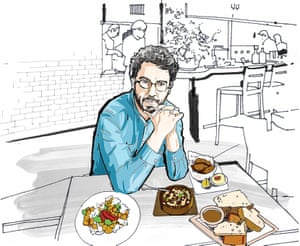 Lunch With Jonathan Safran Foer