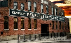 Peerless Distilling Company building, Kentucky.