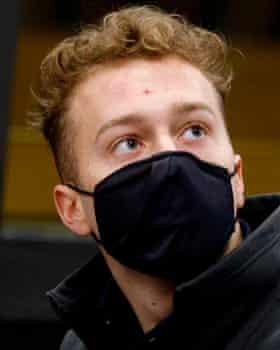 Finnegan Lee Elder - He looked stunned when the verdict was read.
