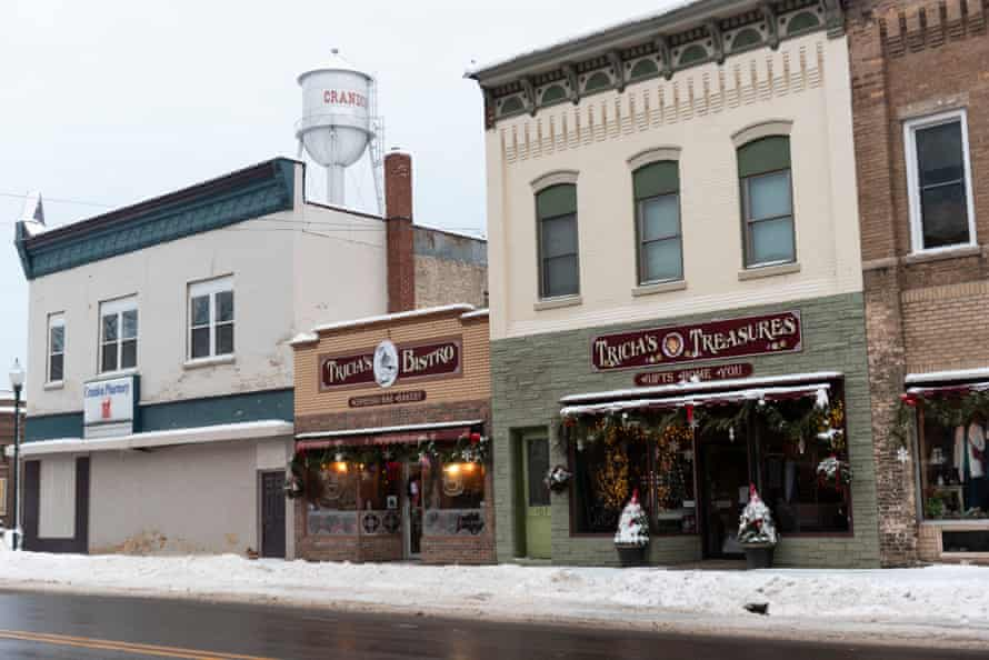 Downtown Crandon, Wisconsin.