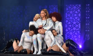 Beyoncé has had the same core group of dancers for more than a decade.