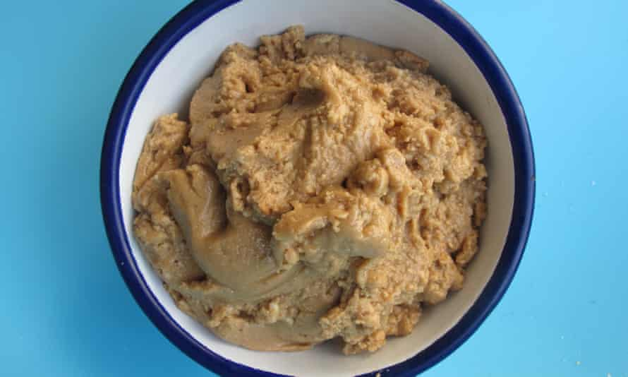 Alton Brown's peanut butter.