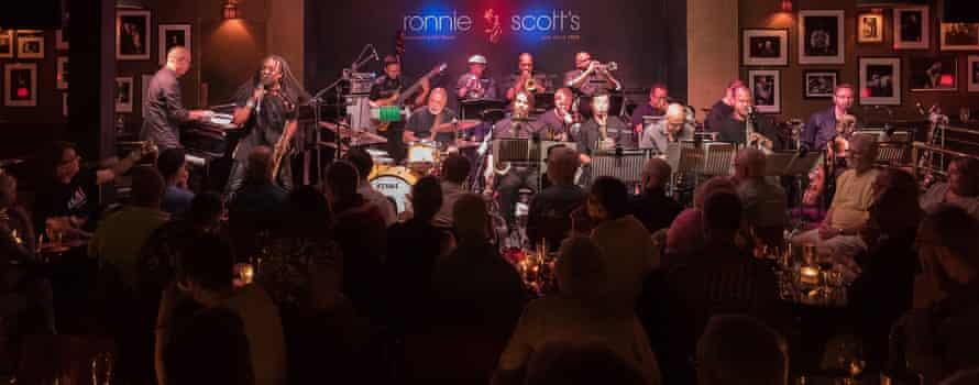 Landmarks of jazz history that make sense to today's audiences... John Beasley's Monkestra at Ronnie Scott's in London.