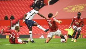 Tanguy Ndombele scores for Tottenham