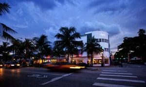 Washington Ave, Miami Beach, Florida