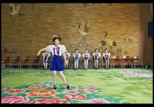 Singing class, Children's Palace  from the series DPRK 2005 by Philippe Chancel