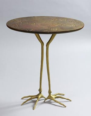 Meret Oppenheim - Table with Bird's Legs, 1939