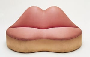 Salvador Dalí Mae West Lips Sofa, 1938
