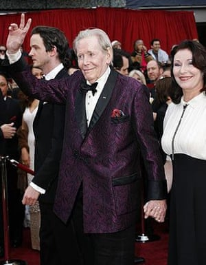 Peter O'Toole nominated once again for best actor, and hoping finally to be the bride rather than the bridesmaid. The young woman with him is his daughter, he says. Peter O'Toole nominated once again for best actor, and hoping finally to be the bride rather than the bridesmaid. The young woman with him is his daughter, he says.