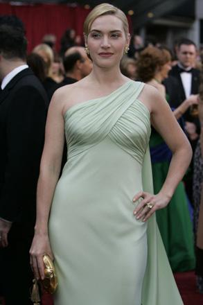 Kate Winslet is nominated against Dame Judi Dench and Dame Helen Mirren (to mention only the knighted British nominees) in the best actress category.