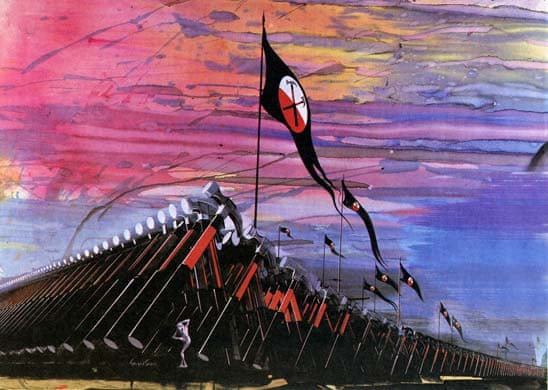 Gerald Scarfe on Pink Floyd's The Wall | Art and design