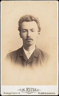 Photograph of Vilhelm Hammershøi, 25 years old, 1889. The Hirschsprung Collection.