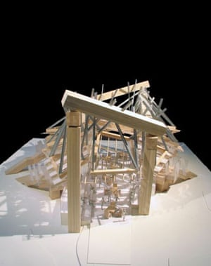 Plans for the Serpentine Gallery Pavilion 2008
