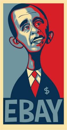 "Shepard Fairey's Barack Obama ""Hope"" poster spoofs"