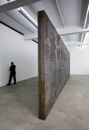 Fernando Pessoa, 2007-8, Richard Serra