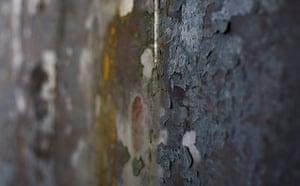 A detail from Fernando Pessoa, 2007-8, Richard Serra