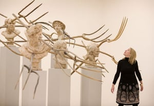 The Revolution Continues: New Art From China' exhibition at the new Saatchi gallery
