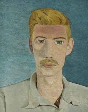 Portrait of a man (John Craxton), painted in 1946