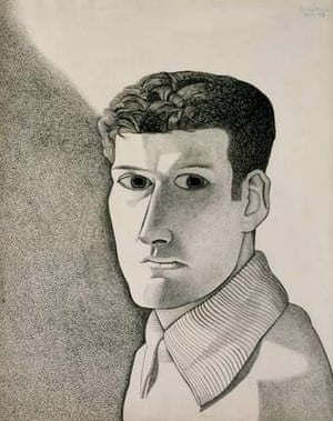 Man at Night (Self Portrait), painted in 1947-48