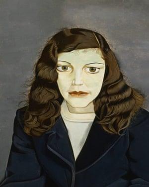 Girl in a Dark Jacket, painted in 1947