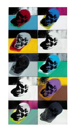 Andy Warhol's Skulls