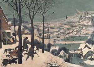 Pieter Bruegel the Elder, Hunters in the Snow (1565)